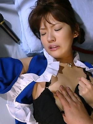 Slutty Asakura shows off her hot pussy when she has her dates